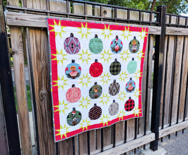 Video: Holiday Ornament Quilt