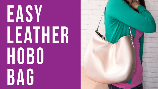 Video: Easy Leather Hobo Bag