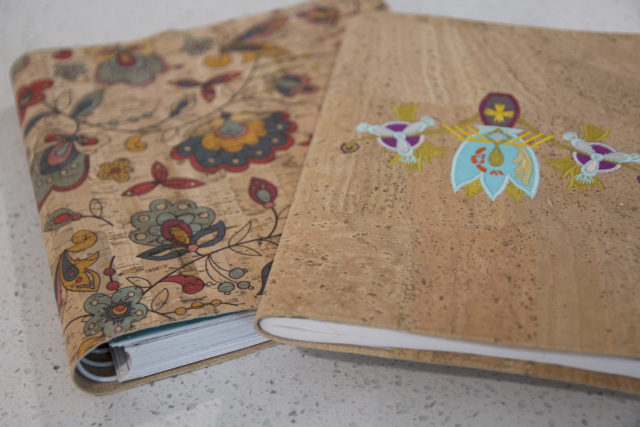 FREE Video: Sew Sweetness Easy Cork or Leather Notebook Covers