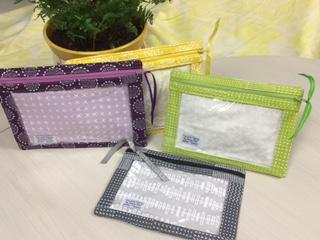 Sew Sweetness I-Spy Pouch, sewn by Nancy