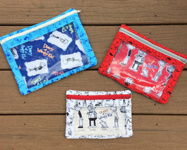 Sew Sweetness I-Spy Pouch, sewn by Madelyn