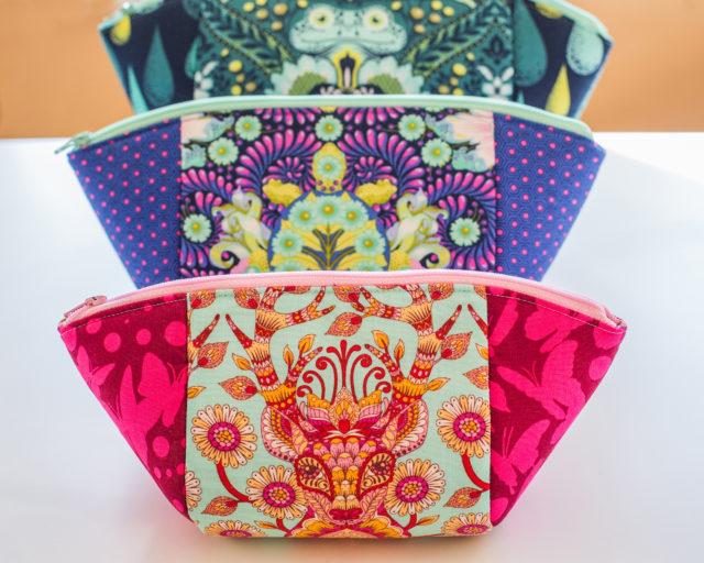 Sew Sweetness Minikins Video+PDF pattern Cotton Candy Pouch