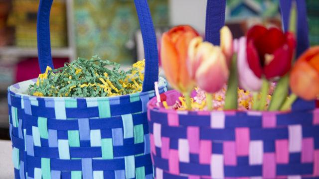 Sew Sweetness Video+PDF Pattern - Woven Easter Basket