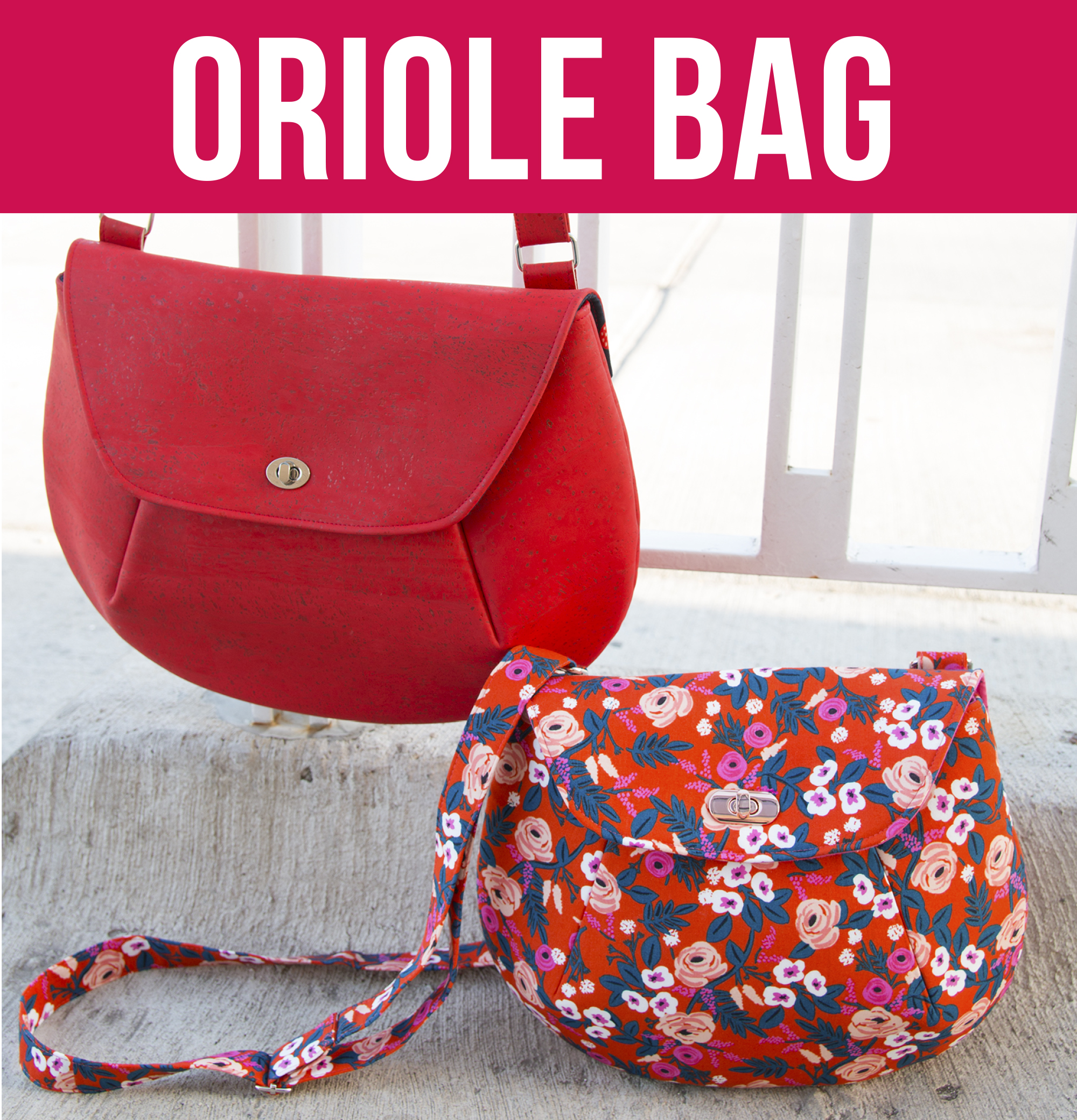 Sew Sweetness Video+PDF Pattern  Oriole Bag 21be6adb0d6f7